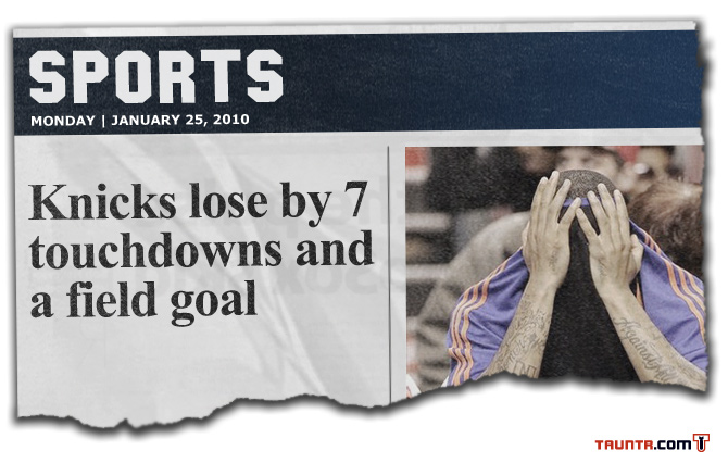 Knicks Losses