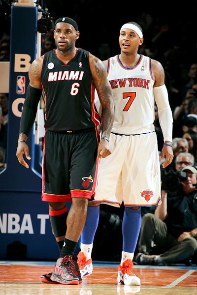 Carmelo & LeBron