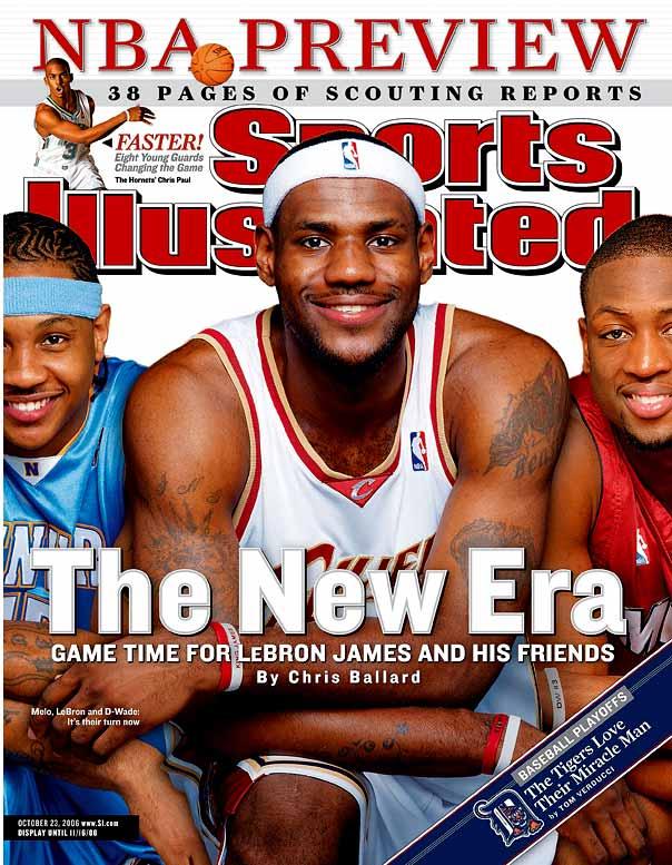 LeBron, Carmelo & Wade '03