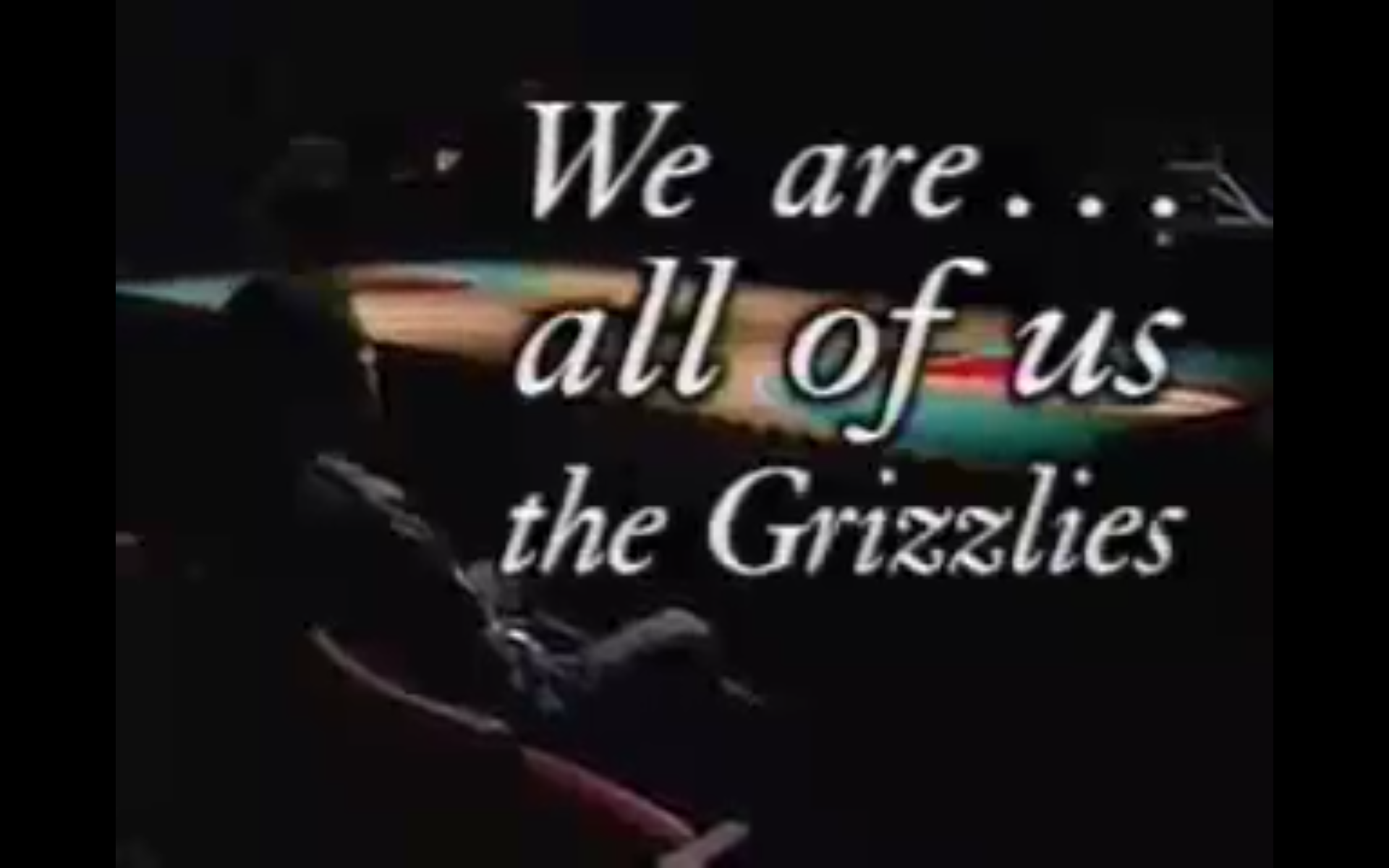 We Are the Grizzlies
