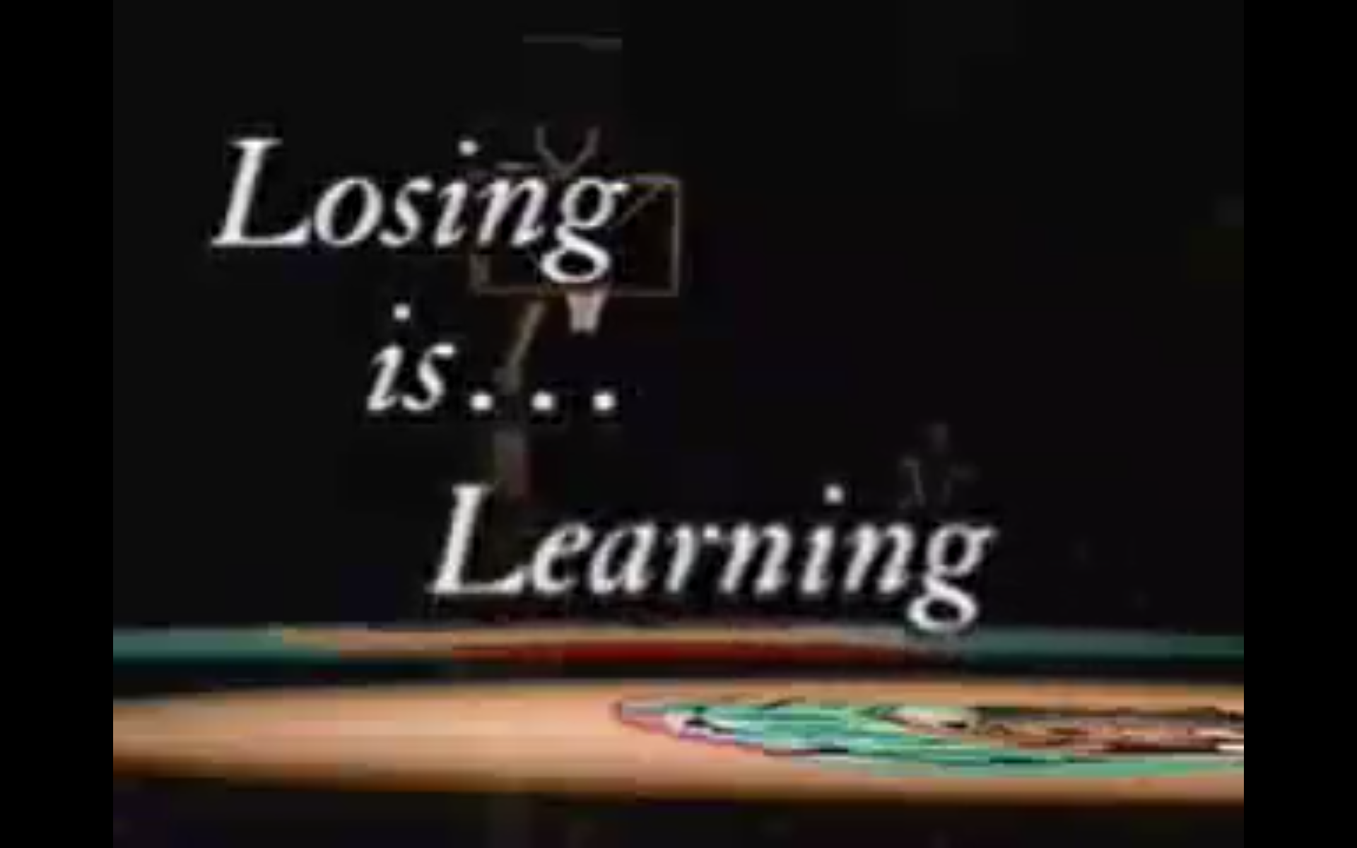Losing is Learning