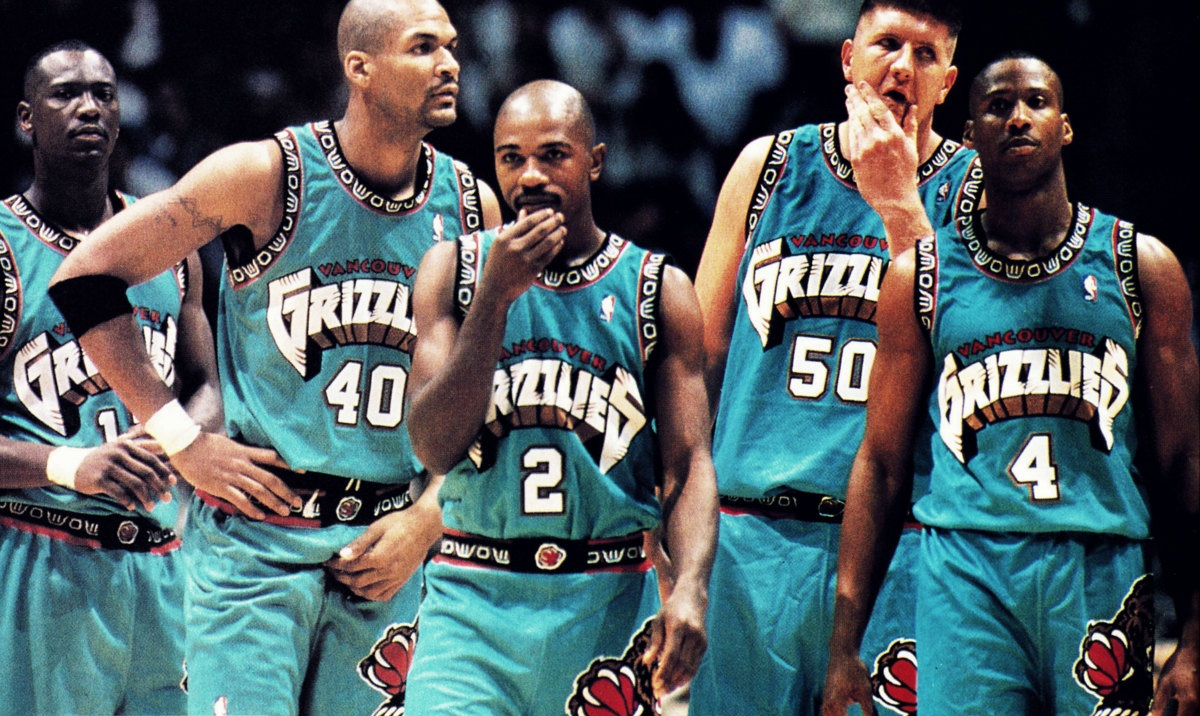 Vancouver Grizzlies Appreciation Thread Message Board Basketball