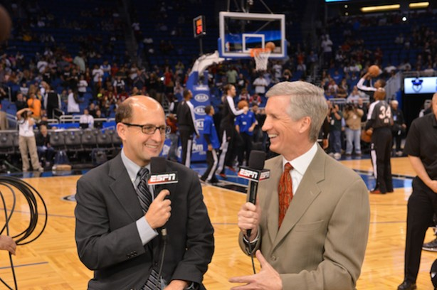 Jeff Van Gundy and Mike Breen
