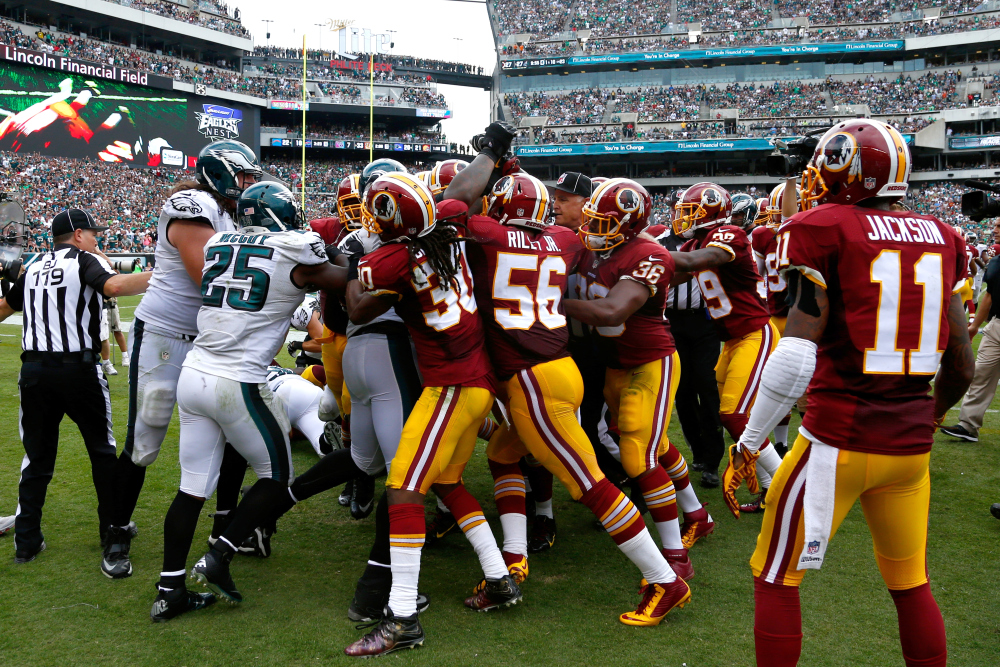 AP REDSKINS EAGLES FOOTBALL S FBN USA PA