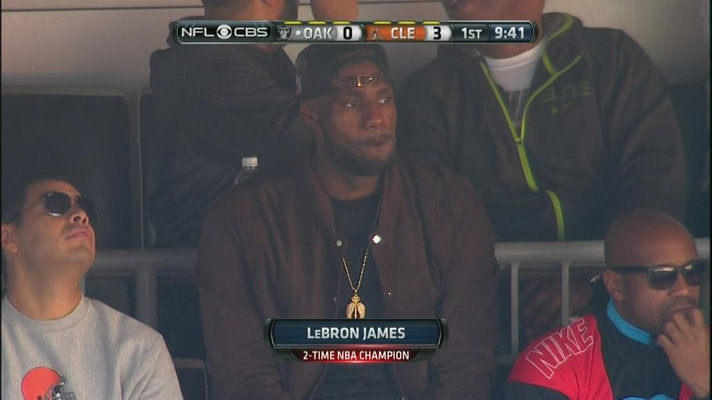 LeBron Browns Game