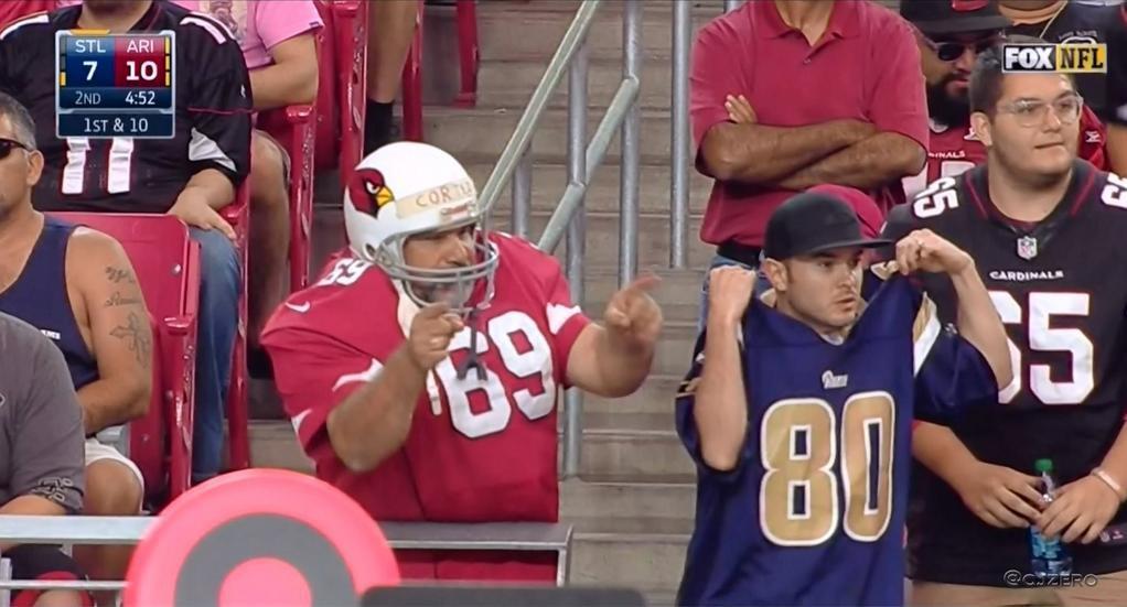 Cardinals Fan Uniform