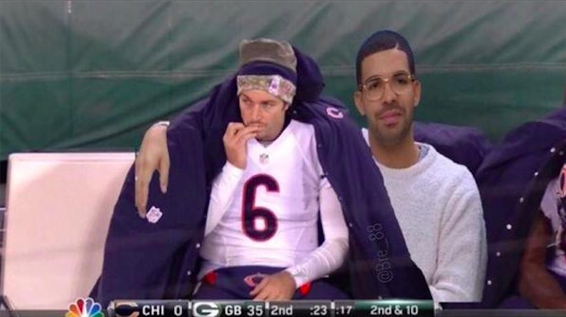 Drake and Jay Cutler