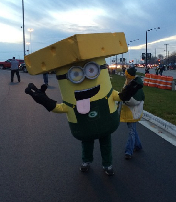 Packers Minion Costume