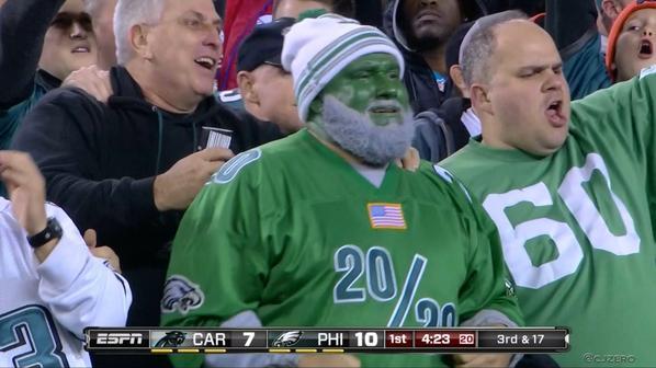 Philly Fan All Green