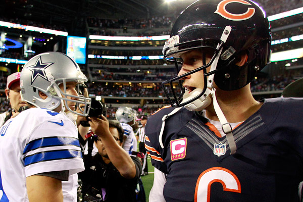 Jay Cutler vs. Tony Romo