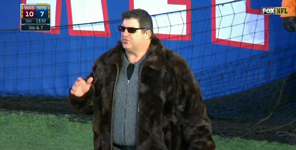 Tony Siragusa Coat