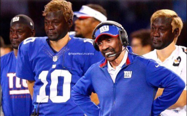 Crying Jordan Giants